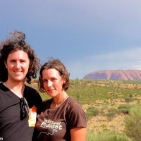 Craig and Linda at Uluru
