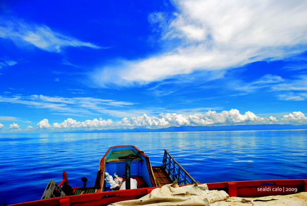 Ferry boat ride in Cebu Province