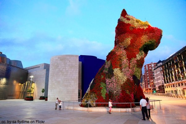 Flower Puppy Bilbao by flydime on Flickr