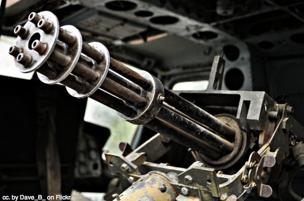 Gun at War Remnants museum by Dave_B_ on Flickr