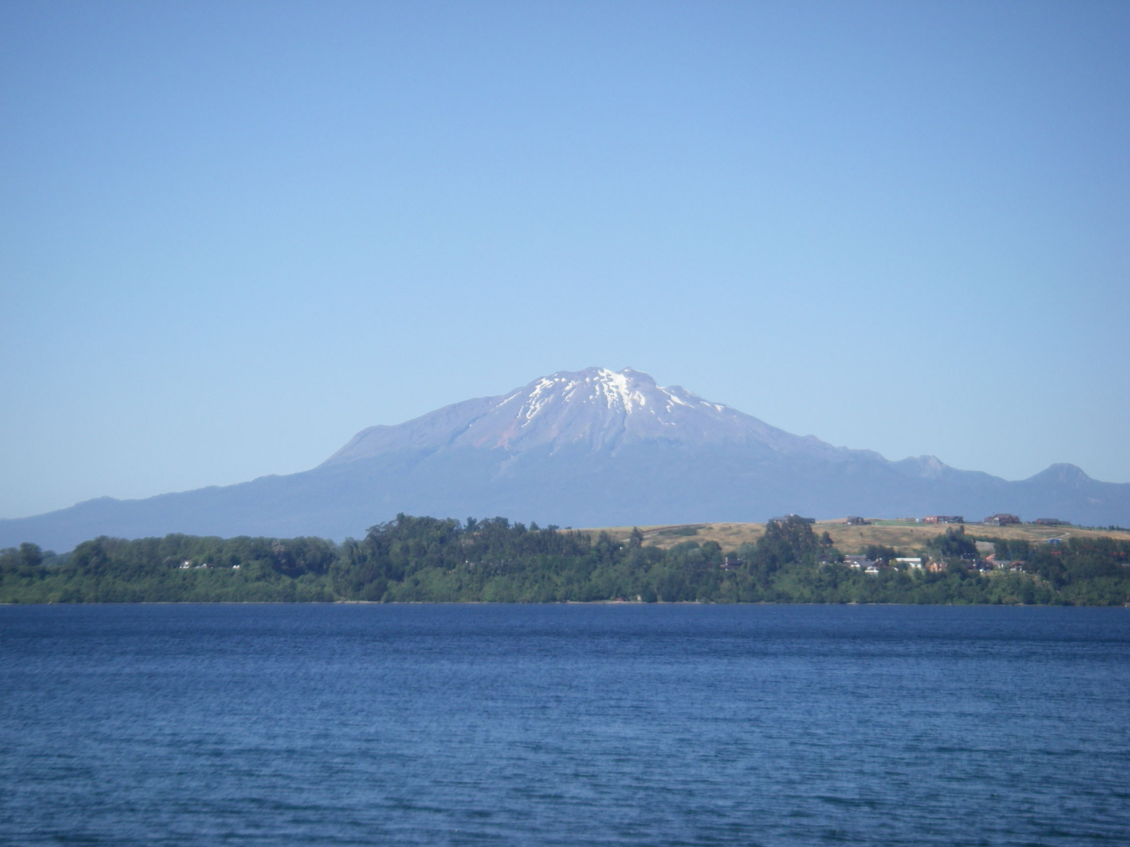 Lake and mountain views from Puerto Varas