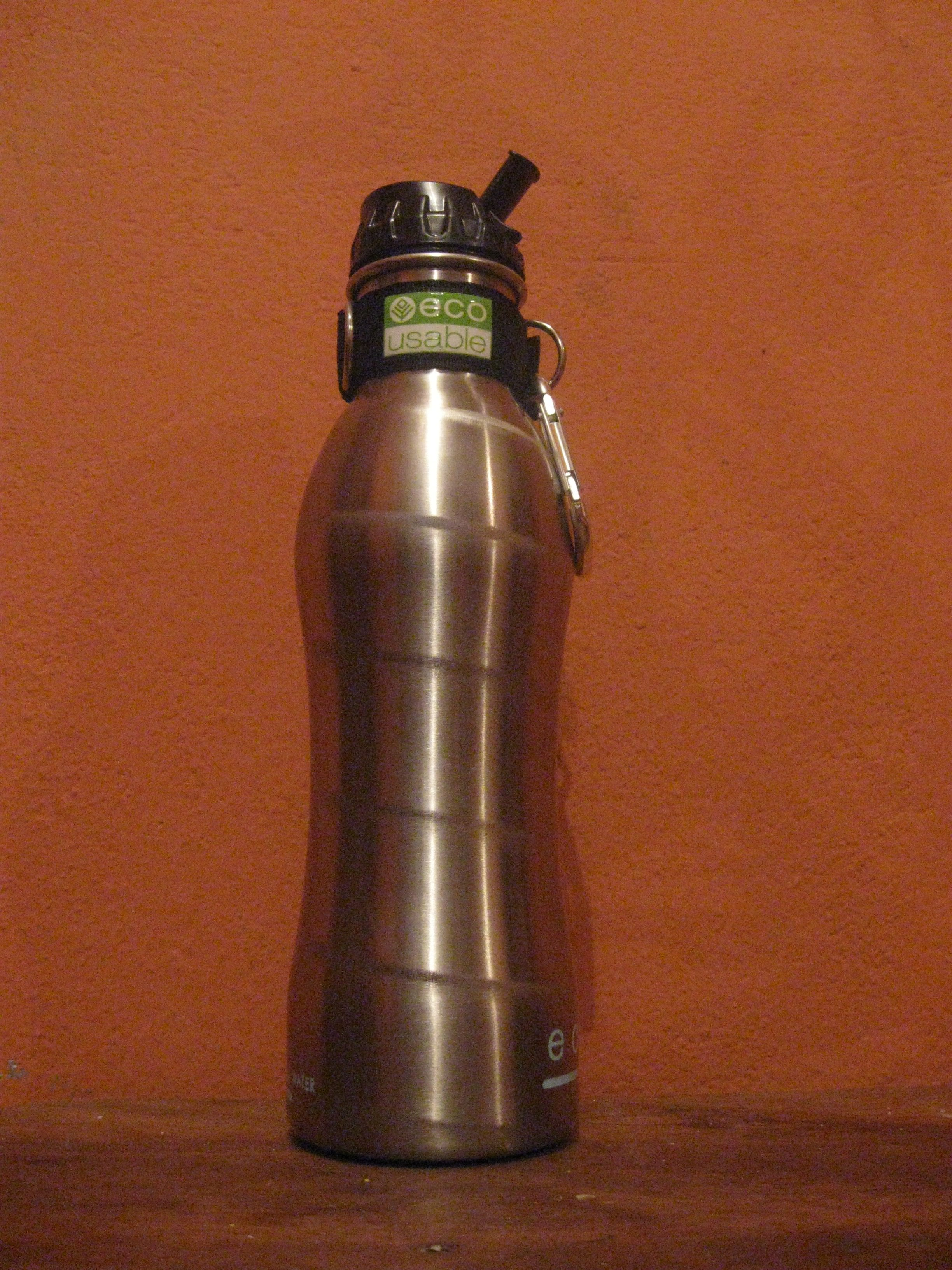 These EcoUsable bottles are a little bulky, but great for water filtering.