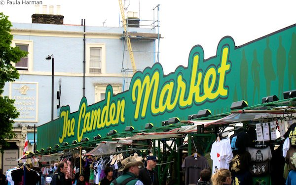 Outdoor market in London