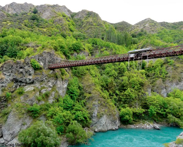 Kawarau Bridge, Queenstown New Zealand