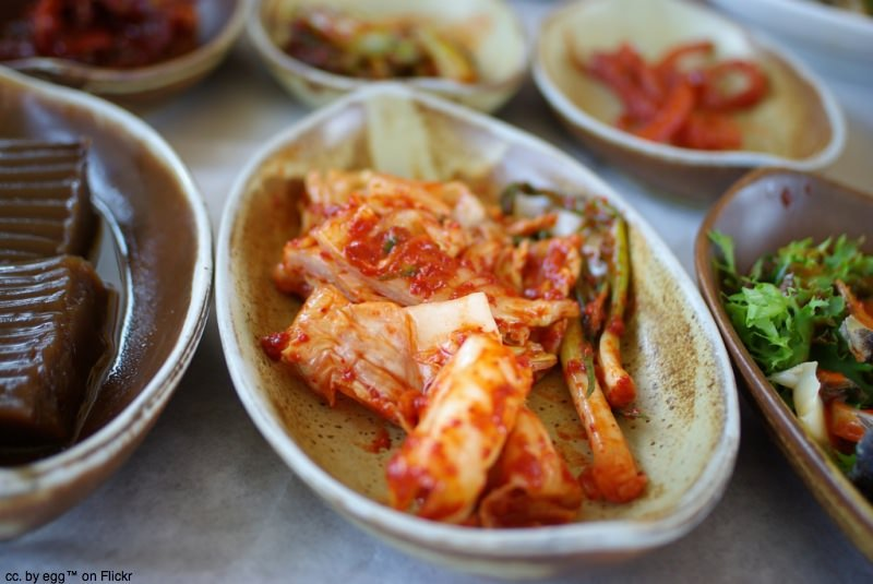 Kimchi and other dishes