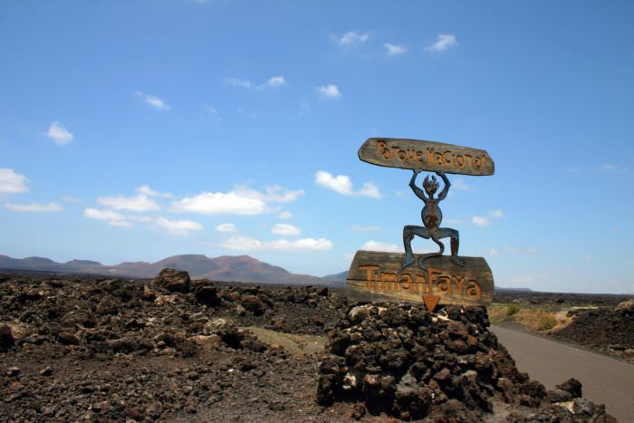 Lanzarote Firemountains
