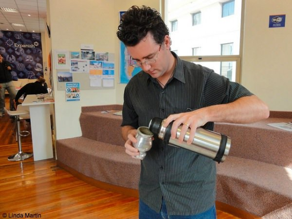 Learning how to make mate in Buenos Aires