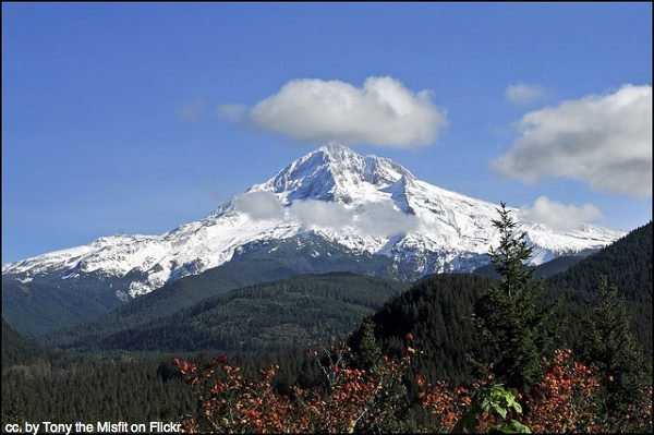 Mt Hood, Portland, by Tony the Misfit