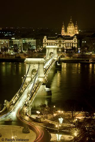 Night Scenes - Budapest, Hungary - Copyright 2009 Ralph Velasco