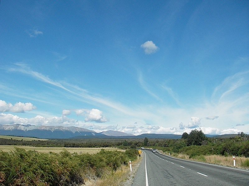 We think the best way to get around New Zealand is by car