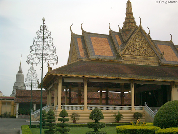 The Phochani Pavilion from the side. Royal Palace, Phnom Penh