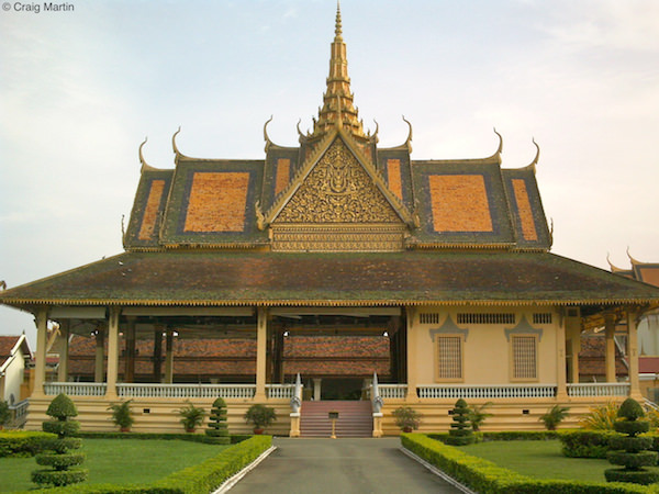 The Phochani Pavilion of the Royal Palace Phnom Penh