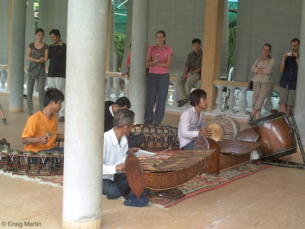 Music in the Royal Palace, Phnom Penh