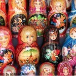 Russia travel - Matryoshka dolls