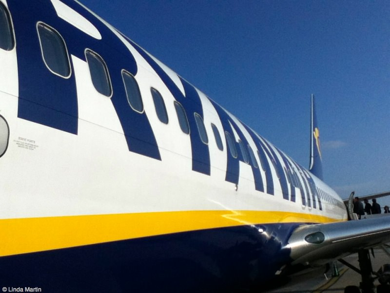 Ryanair is a budget choice for travel to Italy.