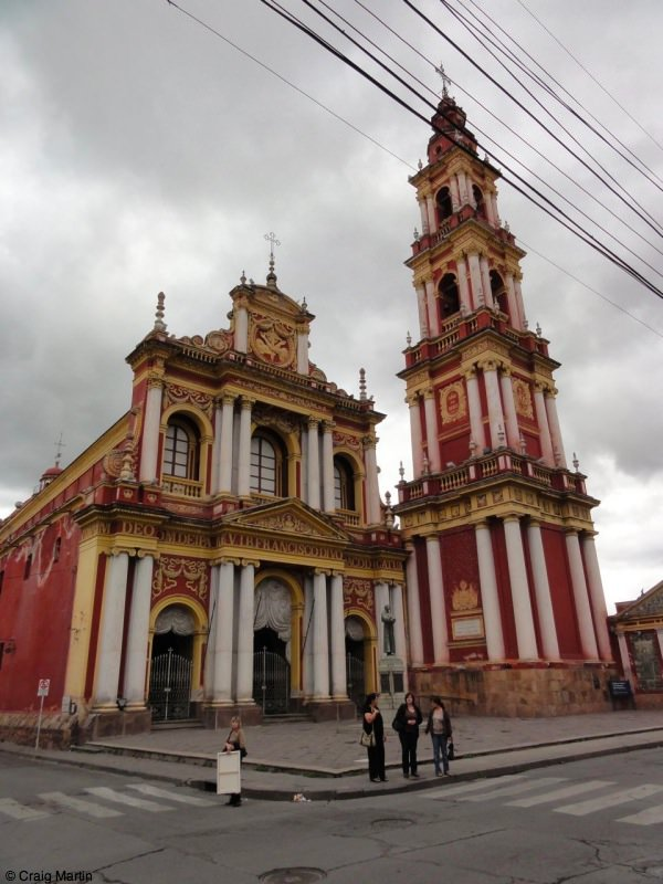Salta church of San Francisco