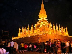 That Luang Night Laos