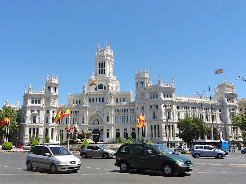 Madrid's town hall