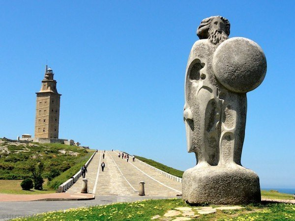 Breogán and the Tower of Hercules