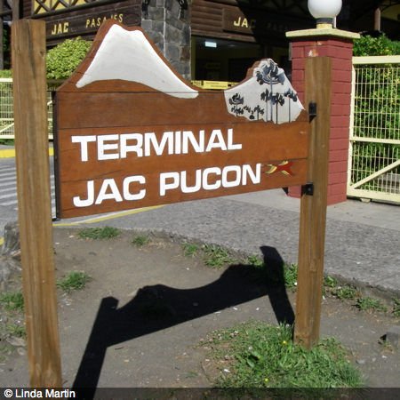 bus travel in Chile jac pucon - bus travel in South America