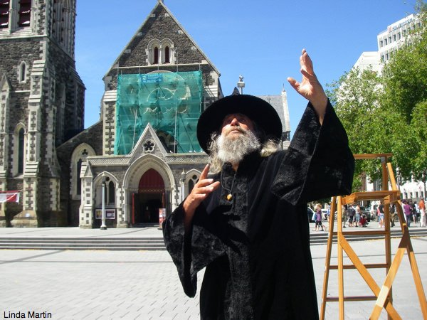 Wizard of Christchurch, New Zealand