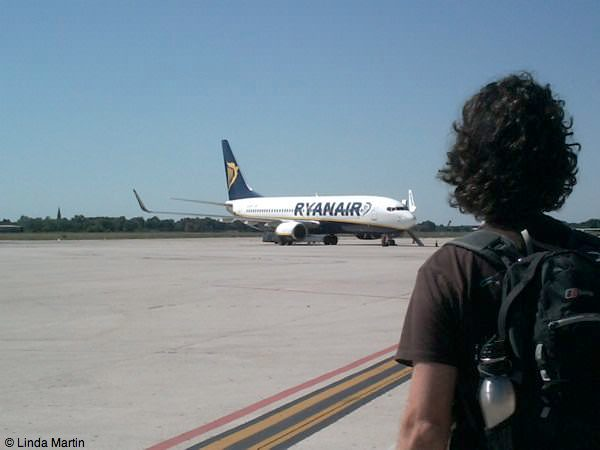 craig heading to ryan air flight