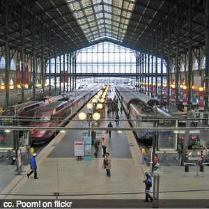 Safety advice before you travel abroad - Gare du Nord, Paris