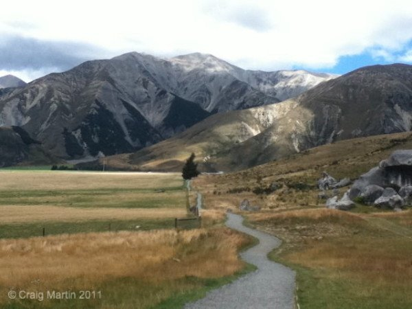 A little South Island trail...