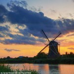 holland netherlands - windmill at sunset - rotterdam windmill - netherlands travel planning