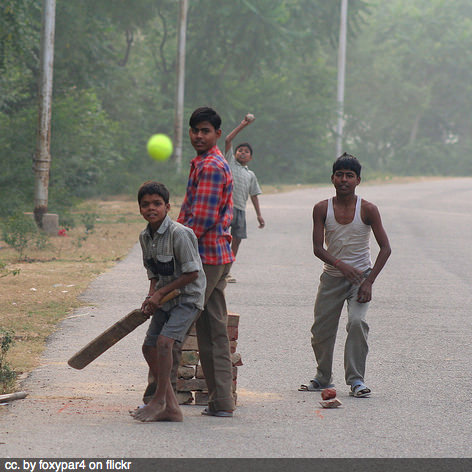 india street cricket square