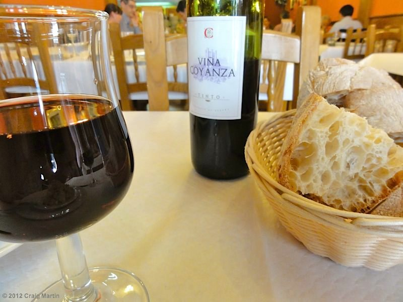 Bread and wine are often included.