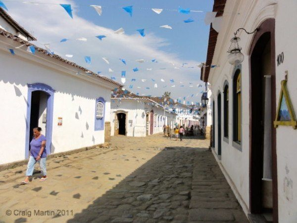 We visited Paraty, Brazil, as part of a tour... and it was awesome.