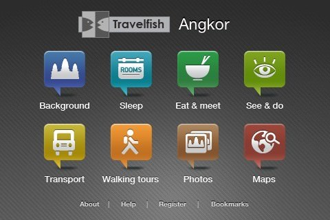 Angkor travel guide for iPhone / iPod touch