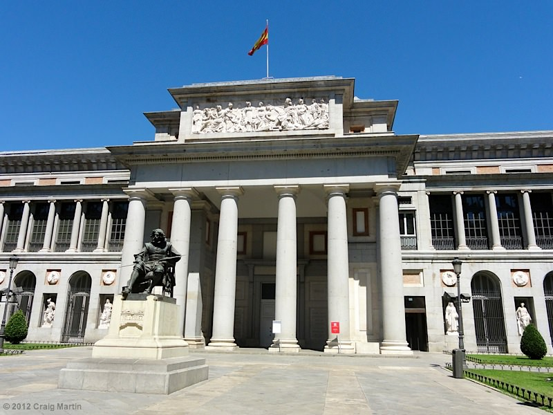 Prado art museum - Madrid, Spain