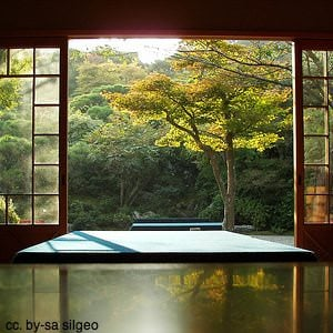 relaxing room in japan - japan travel information