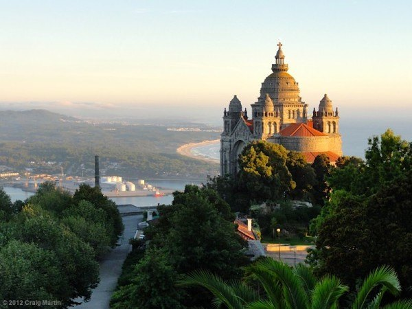 View from the pousada in Viana.