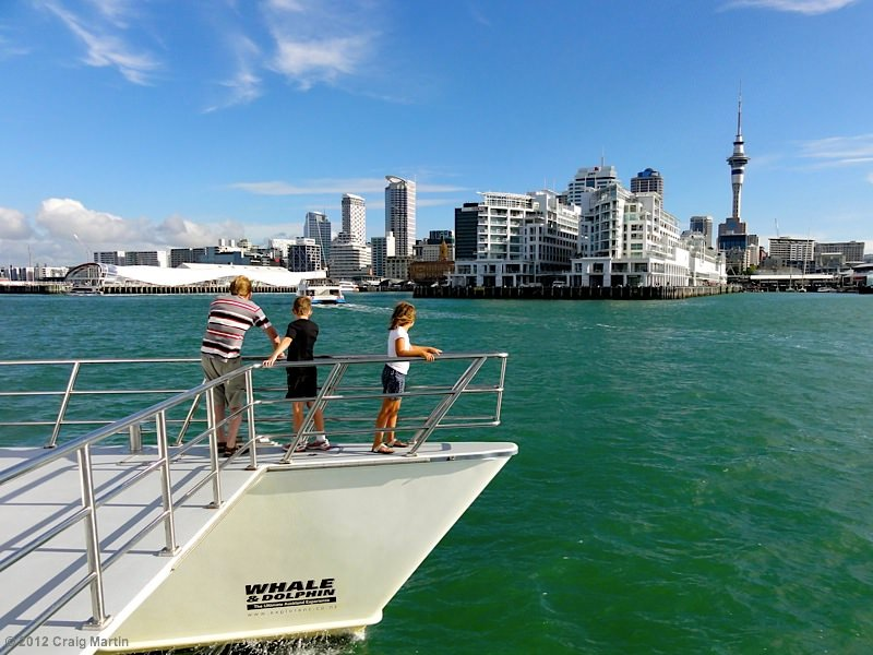 Ferry in Auckland harbour